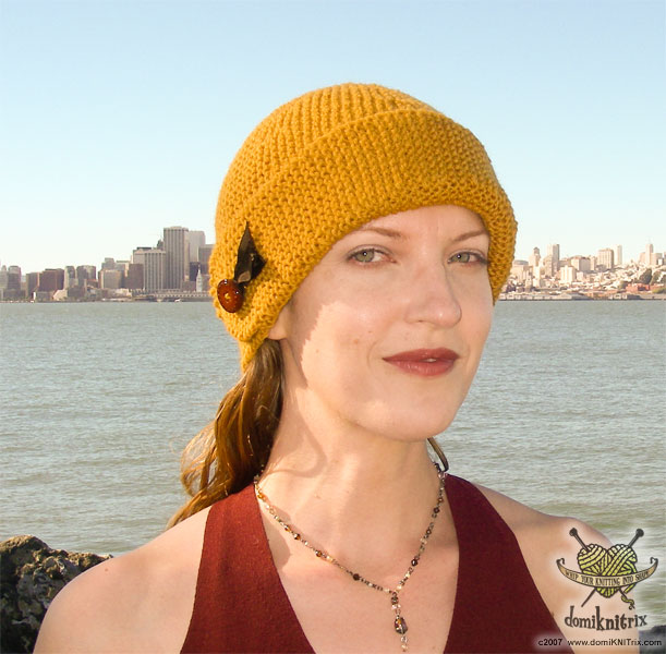 This simple hat is a stashbuster that knits up in just a few hours. c073a7909ed