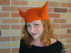Miss Erika in the Devil Hat