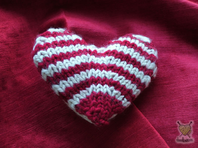 My knitted valentine