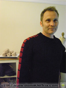 I'm thinking of renaming this sweater as Vrroom! What do you think? I used to call it Doppler.